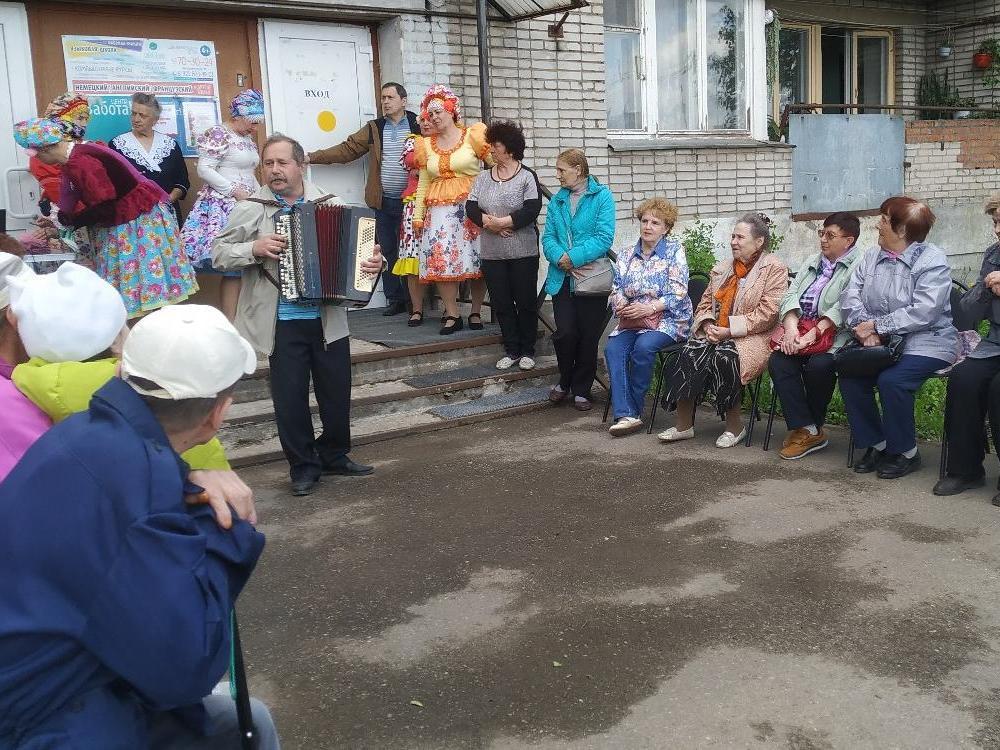 «Дружное» воскресенье провели посетители филиала «Забота» в мкр ПЗ