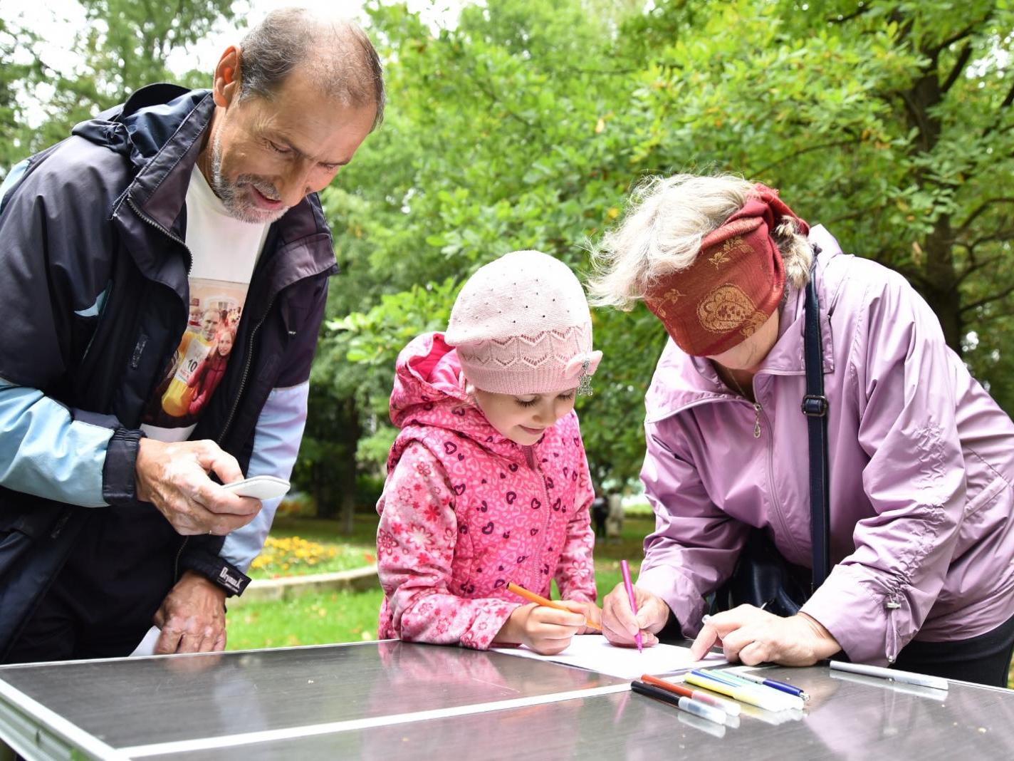 Квест поколений прошли посетители центра «Забота»