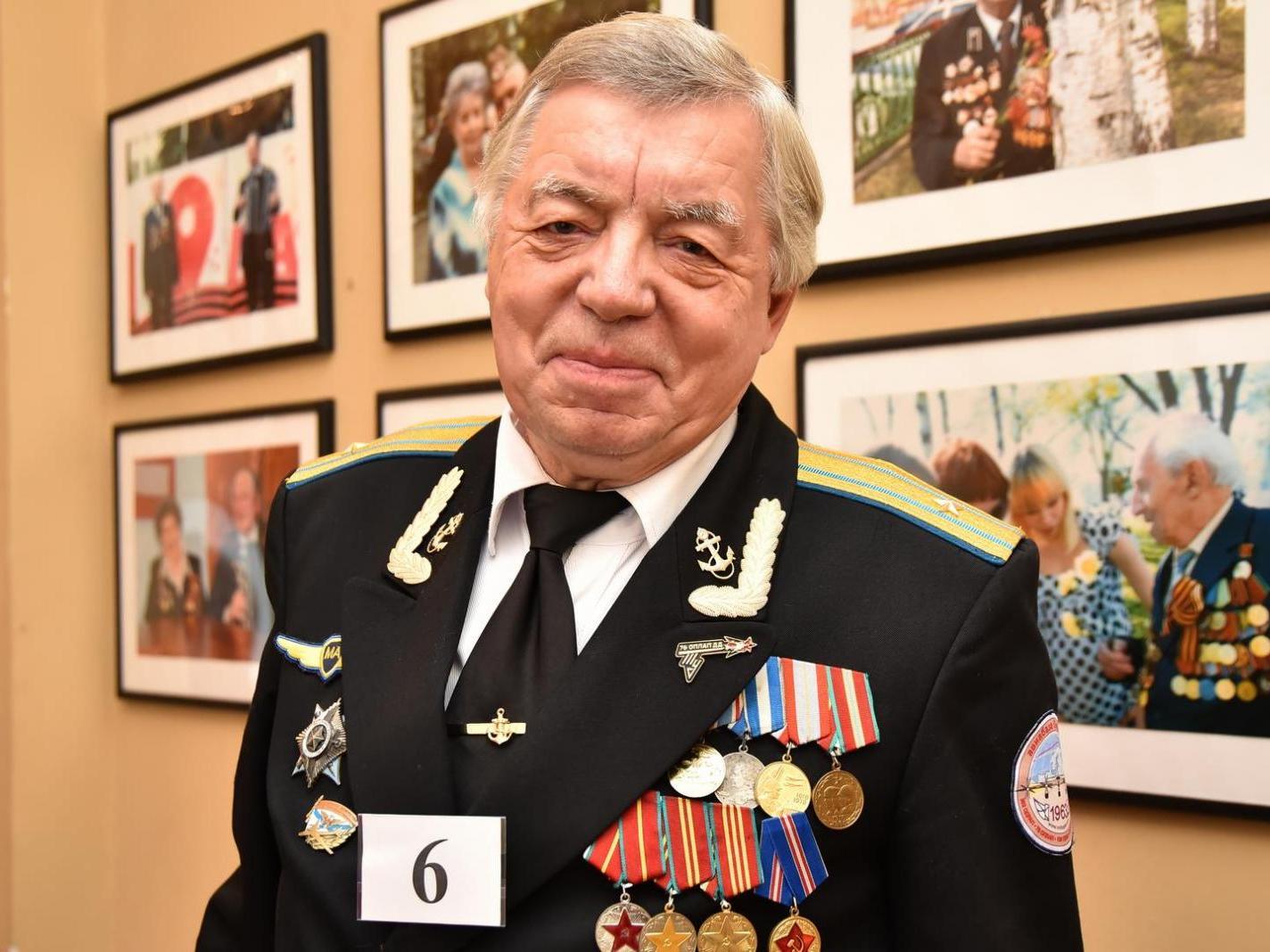 Майор морской авиации одержал победу в конкурсе «Пенсионер года» в Вологде